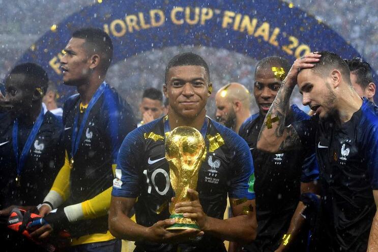 França venceu o Mundial da Rússia