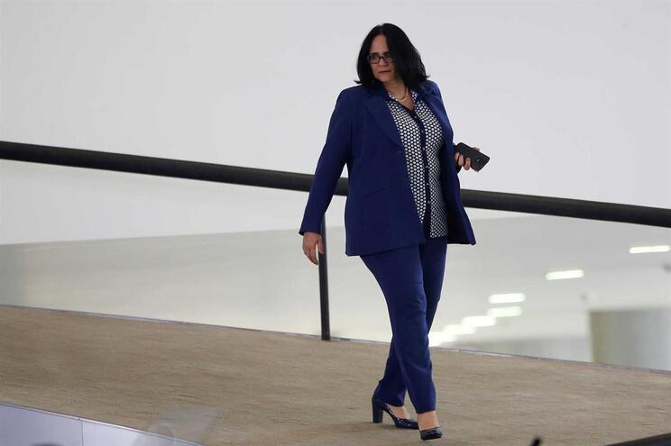A ministra brasileira Damares Alves