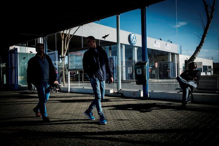 Autoeuropa suspende toda a produção até 29 de março