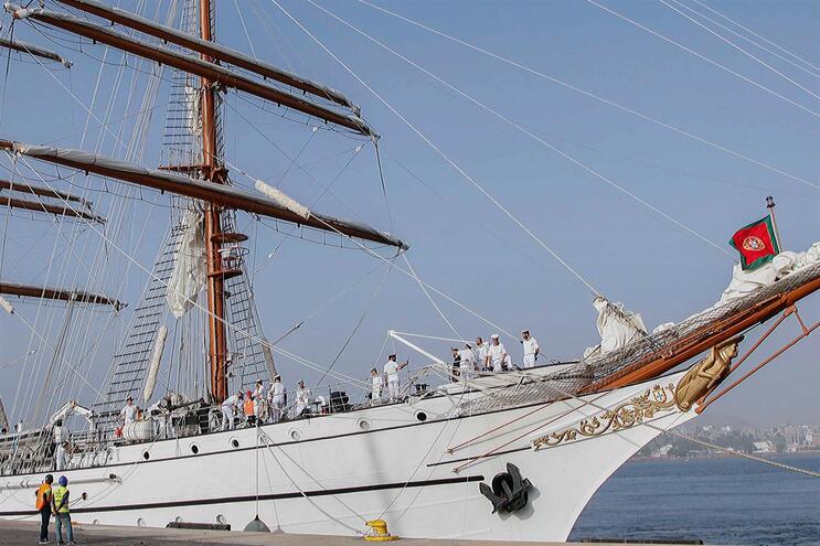 Navio-escola Sagres já está em Lisboa