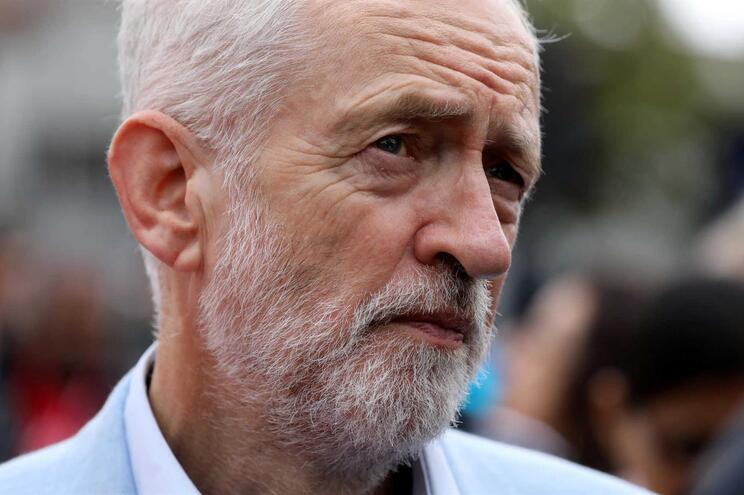 O líder do 'Labour', Jeremy Corbyn