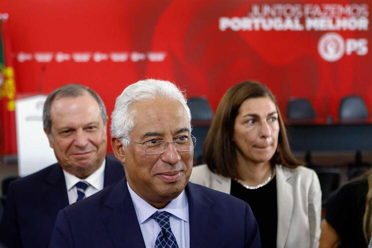 O secretário-geral do PS e primeiro-ministro indigitado, António Costa