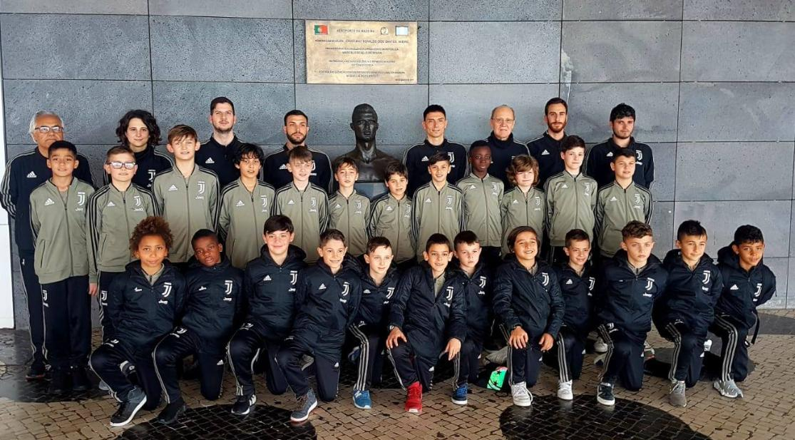 Filho de Cristiano Ronaldo está no Funchal a competir pela Juve