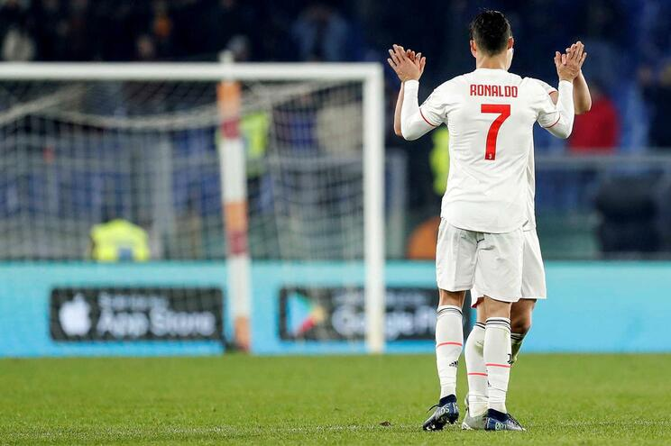 Ronaldo de baixa