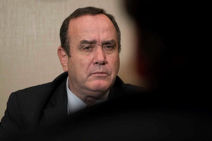 Alejandro Giammattei foi eleito na segunda volta das eleições presidenciais em agosto deste ano