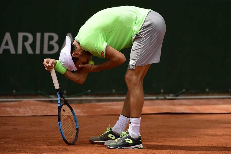 João Sousavolta a perder na estreia em Roland Garros