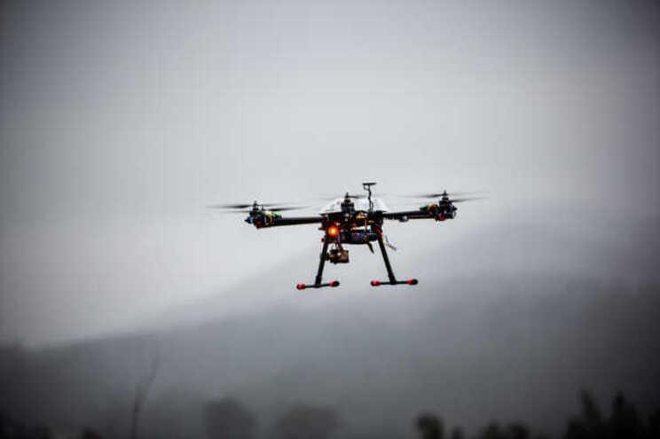 PSP vai usar drones para vigiar parques e terminais de transportes