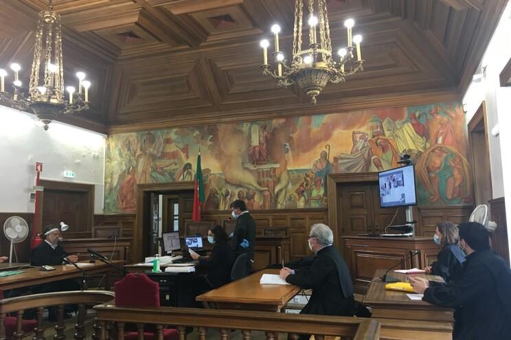 Leitura do acórdão no Tribunal de Bragança