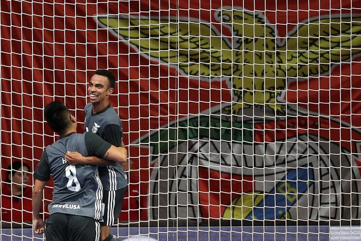 Benfica vence Sporting de Braga e joga final do nacional com o Sporting