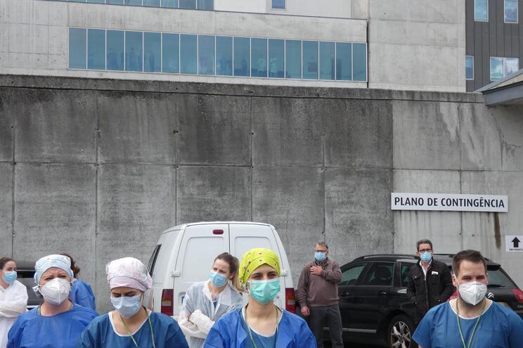 O Hospital de Braga é uma das unidades de referência contra a Covid-19