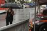 Chuva e trovoada perturbam Rampa da Senhora da Graça