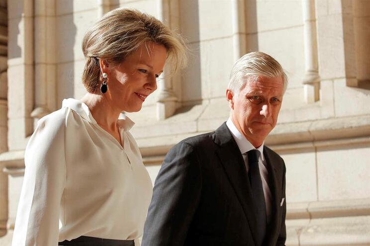 Reis da Bélgica, Mathilde e Philippe