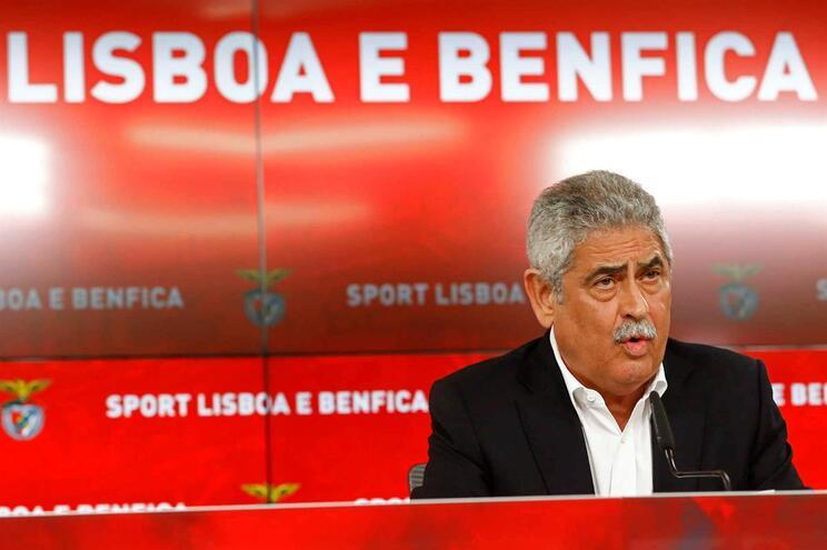 Luís Filipe Vieira abriu os cordões à bolsa