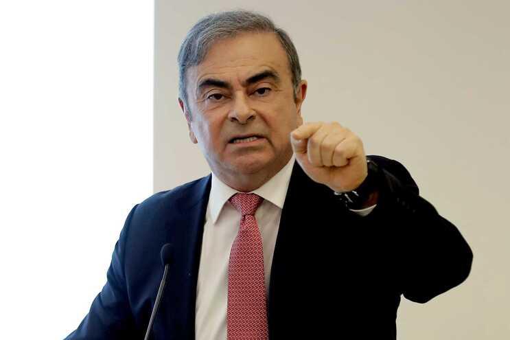Carlos Ghosn foi acusado de irregularidades financeiras durante o mandato à frente da Nissan