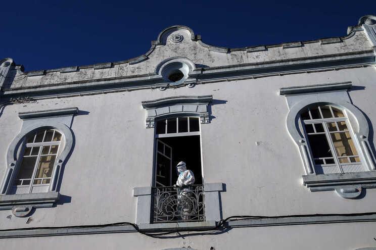 Lar em Reguengos de Monsaraz, onde um surto causou 18 mortos