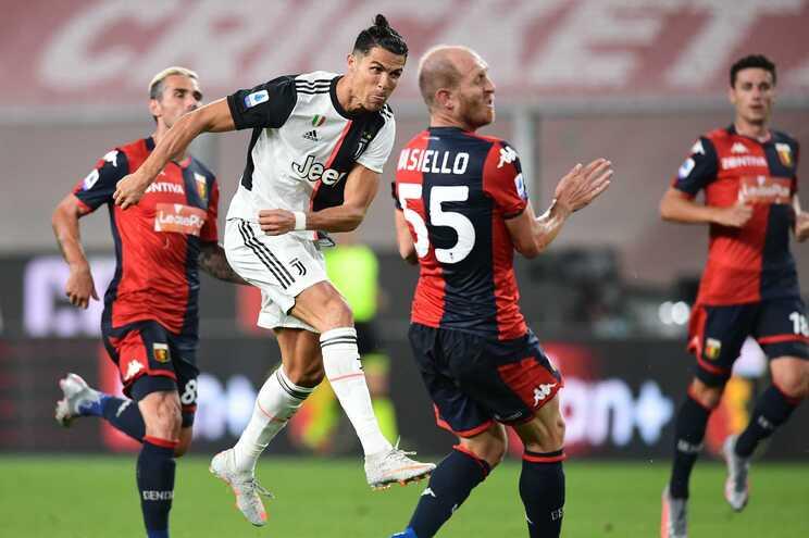 Ronaldo marcou ao Génova