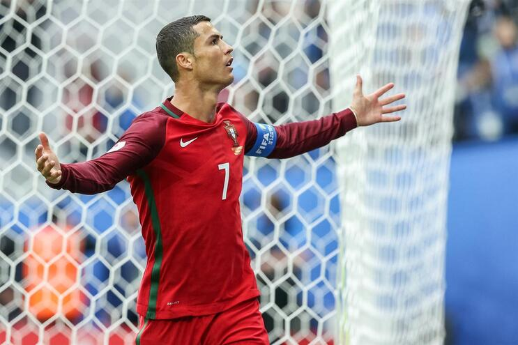 Cristiano Ronaldo chega à seleção com fome de golos