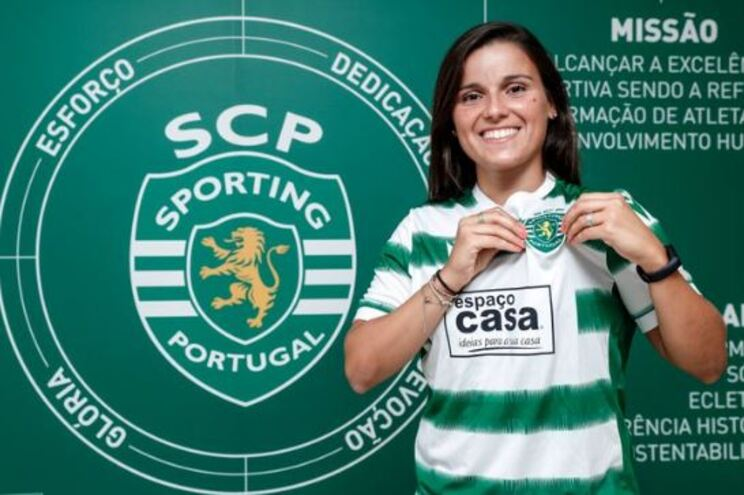 Mónica Mendes reforça o Sporting