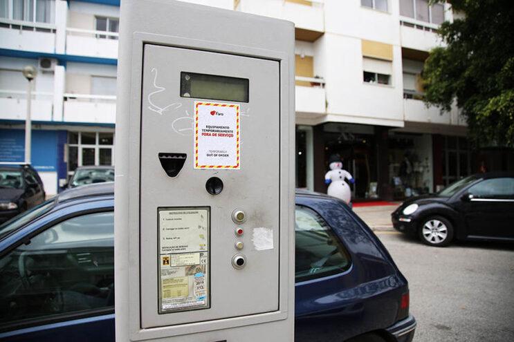 Parquímetros em Faro são gratuitos em dezembro