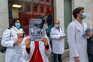 Médicos espanhóis em greve para não serem maltratados