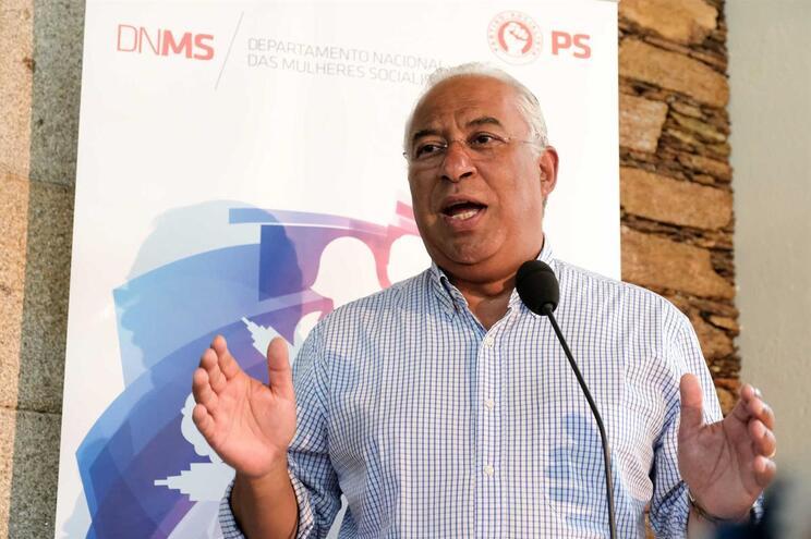 António Costa, primeiro-ministro e secretário-geral do PS