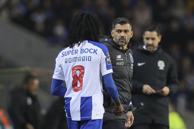 Romário  Baró é a surpresa  de Sérgio Conceição para a final da Taça