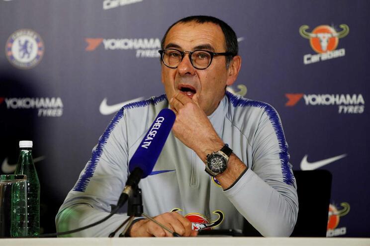 """Sarri garante que """"Kepa cometeu um grande erro e haverá consequências"""""""