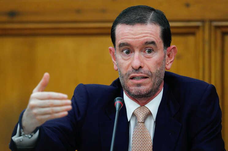 O presidente do Conselho de Administração da TAP, Miguel Frasquilho