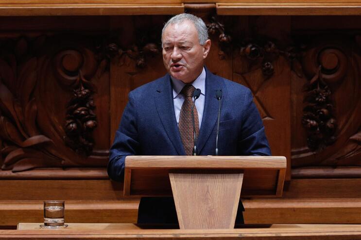 O líder parlamentar do PSD, Adão Silva