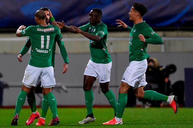 """Les Verts"" festejam apuramento na Taça"
