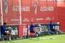 Treinos do Atlético de Madrid a 9 de maio
