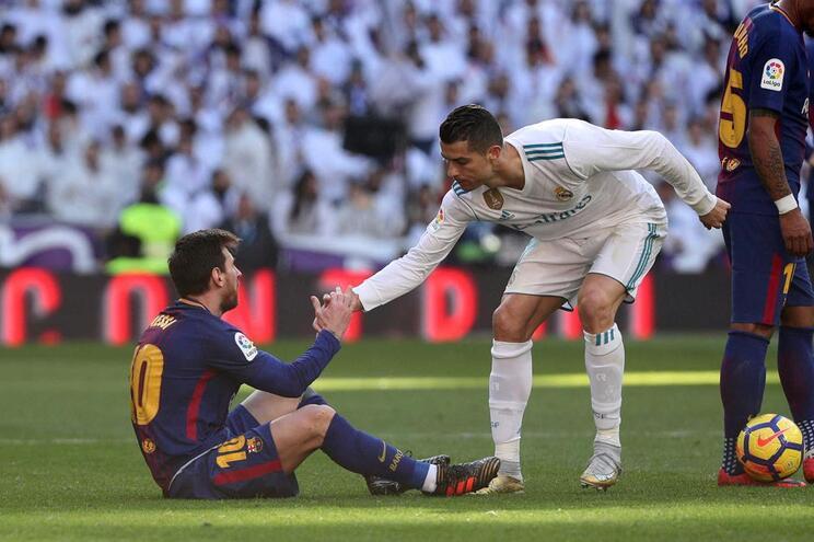 """Messi: """"O Real Madrid vai sentir falta de Ronaldo"""""""