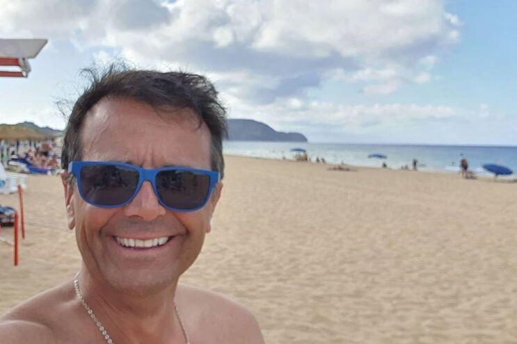 Jorge Gabriel passou férias na ilha do Porto Santo