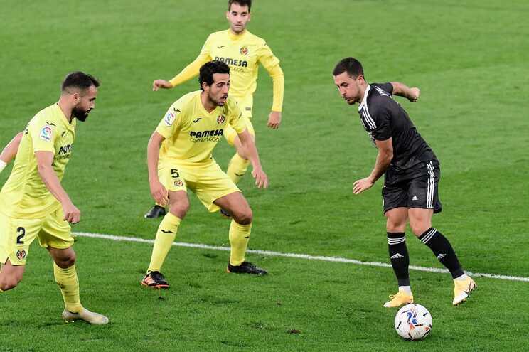 Villarreal empata Real Madrid e sobe ao segundo posto