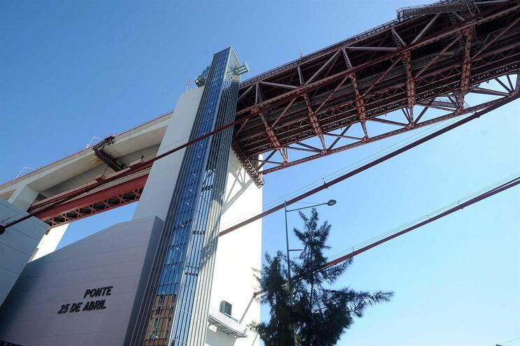 Lisboa, 22/09/2017 - Apresentação a imprensa do centro interpretativo da Ponte 25 de Abril e do miradouro
