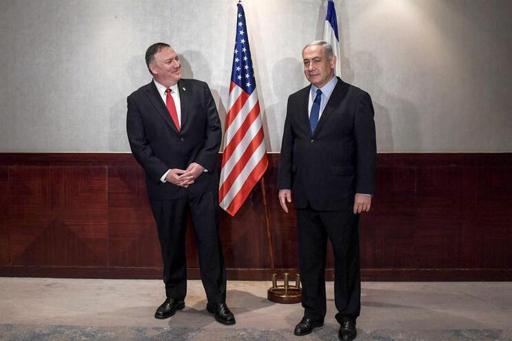 Netanyahu apela a novas pressões sobre o Irão em reunião com Pompeo em Lisboa