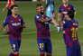 Suárez agradece palavras e tenta apaziguar Messi