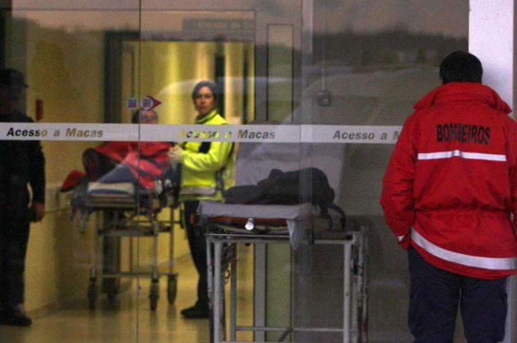 Idosa de 86 anos está internada no Hospital de Santo André, em Leiria