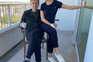 Navalny com a esposa