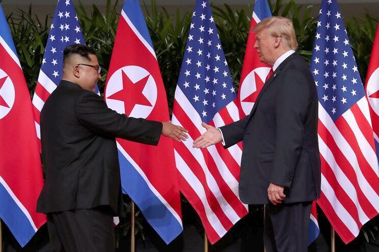 Trump diz que mantém boa relação com Coreia do Norte
