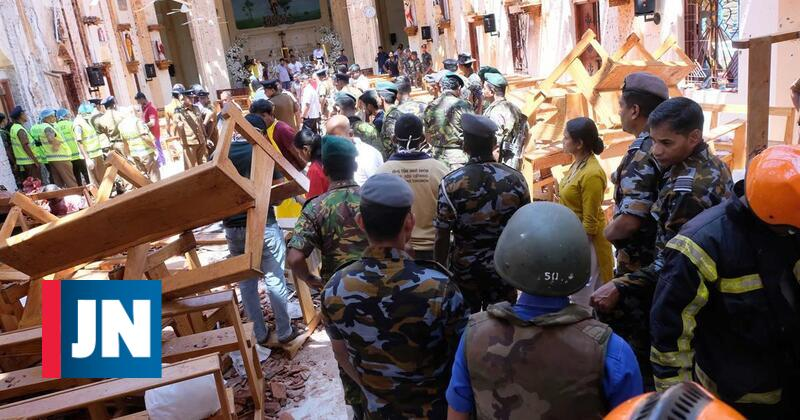Tragédia no Sri Lanka em 60 segundos