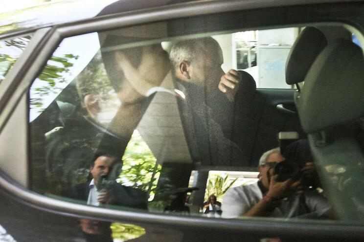Paulo Silva à chegada ao TIC, no Porto, na quinta-feira à tarde