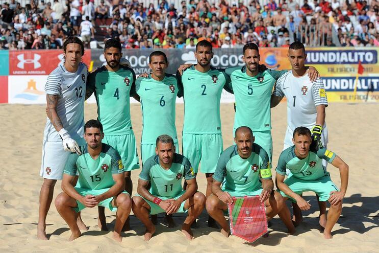 Portugal domina nas areias