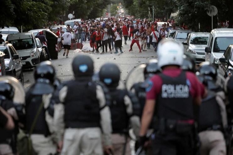 Os incidentes do fim de semana impediram a realização do jogo decisivo da Libertadores