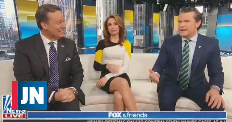 Apresentador da FOX diz que não lava as mãos há mais de dez anos