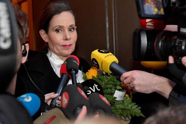 Sara Danius demitiu-se em reação ao escândalo sexual