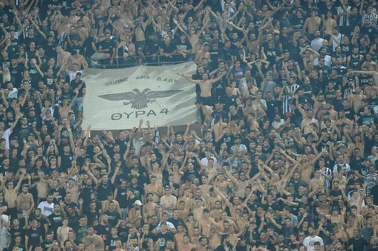 Os adeptos do PAOK são dos mais fanáticos na Grécia