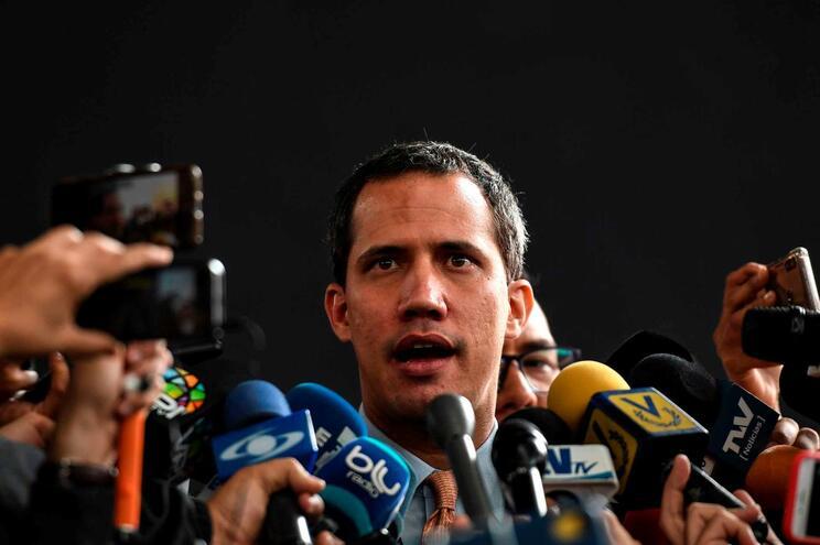 Juan Guaidó, autoproclamado presidente interino da Venezuela