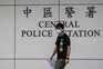 Joshua Wong após ser libertado
