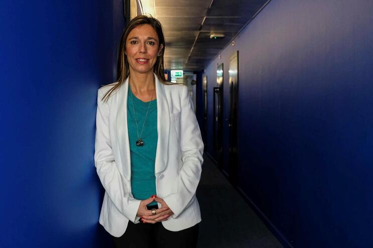 A Bastonária da Ordem dos Enfermeiros,  Ana Rita Cavaco